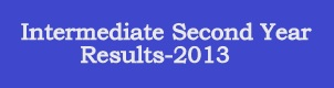 Intermediate second year results-2013