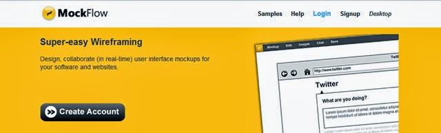 MockFlow: Online Wireframe Tool