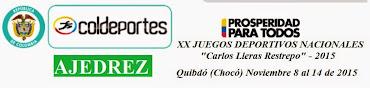 AJEDREZ: XX Juegos Deportivos Nacionales 2015 (Dar clic a la imagen)