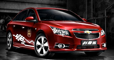 China Gets Chevrolet Cruze WTCC Edition