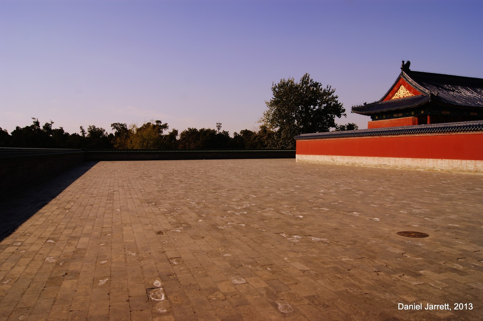 Temple of Heaven Park, Empty