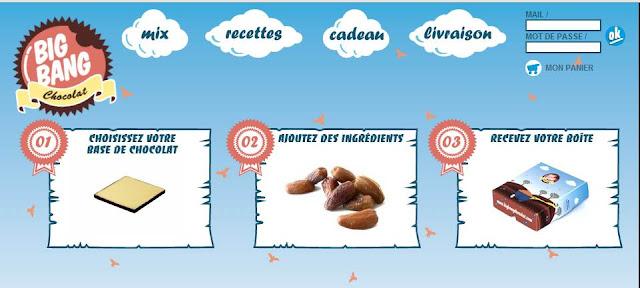 5 bons d'achat Big Bang Chocolat de 20 euros