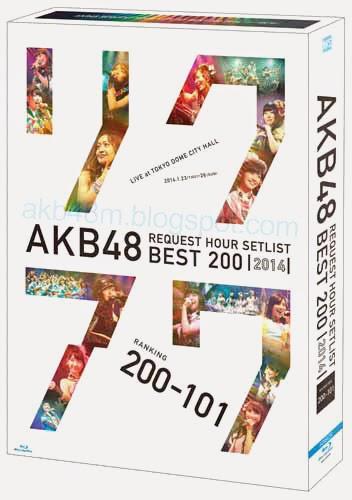 [Blu-ray] AKB48 リクエストアワーセットリストベスト200 2014 (200~101ver.) スペシャルBlu-ray BOX (Blu-ray Disc5枚組) [BDISO]