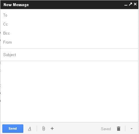 New compose and reply experience in Gmail