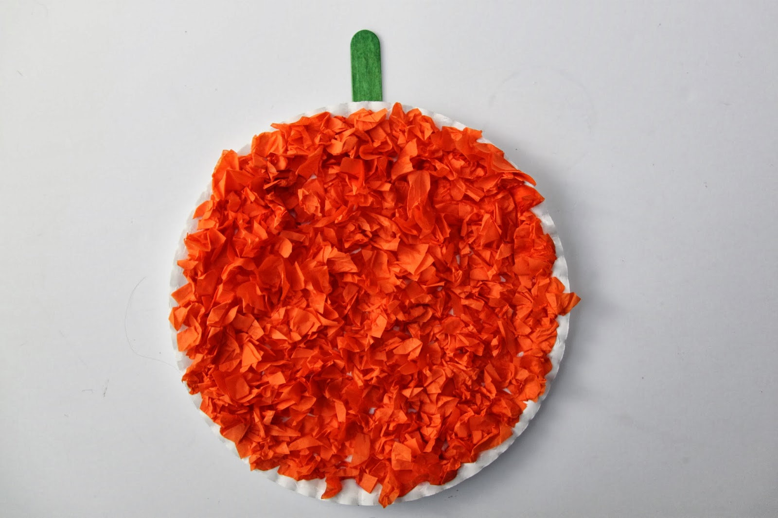 Elmer's Early Learners Academy Kids Project: Tissue Paper Pumpkins ...