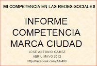 Informe  seguimiento de la competencia en redes sociales