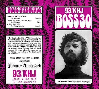 KHJ Boss 30 No. 104 - Johnny Appleseed