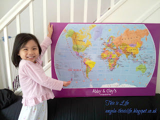 personalised children's map