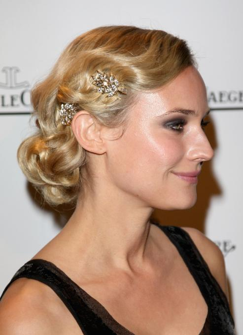 celebrity Hairstyles Wedding