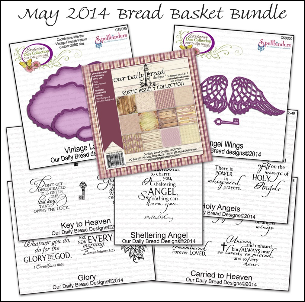 Stamps - Our Daily Bread Designs May 2014 Bread Basket Bundle