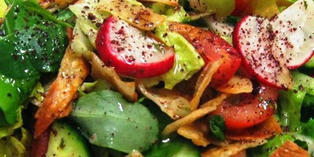 Fattoush Recipe - How to make Fattoush