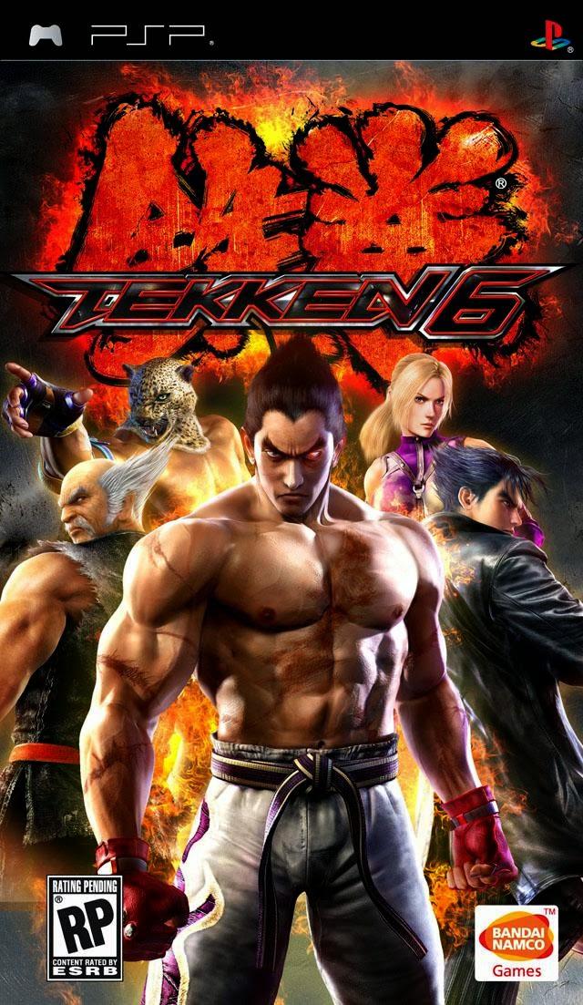 PSP - Tekken 6 (USA) ISO - PPSSPP