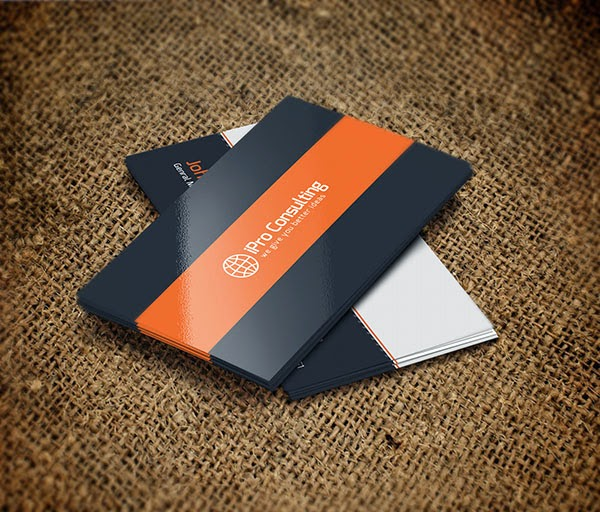 Free iPro Consulting Business Cards PSD