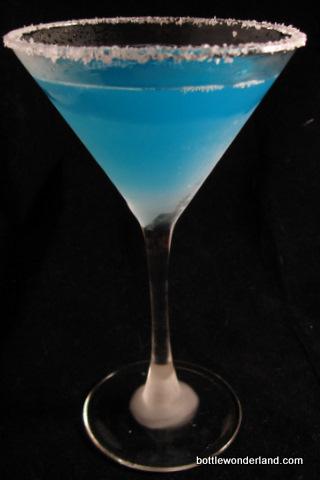 Blue Margarita Drink