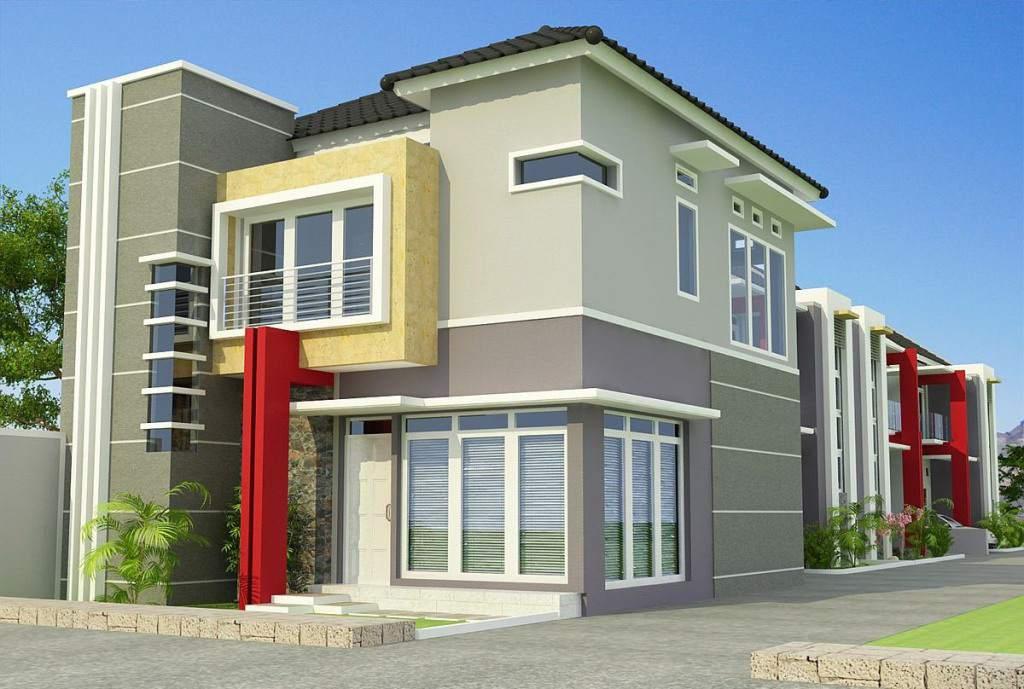 Judul: Desain Rumah Minimalis Type 36 72, 45, 60 120 Modern Terbaru ...