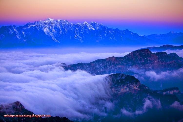 Mùa đông ở dãy núi Himalaya 9