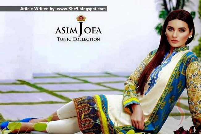 Catalog of Asim Jofa Tunic 2015