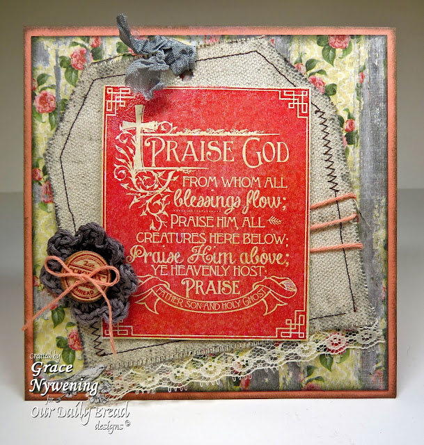 Our Daily Bread designs stamps,Chalkboard - Hymns, designed by Grace Nywening