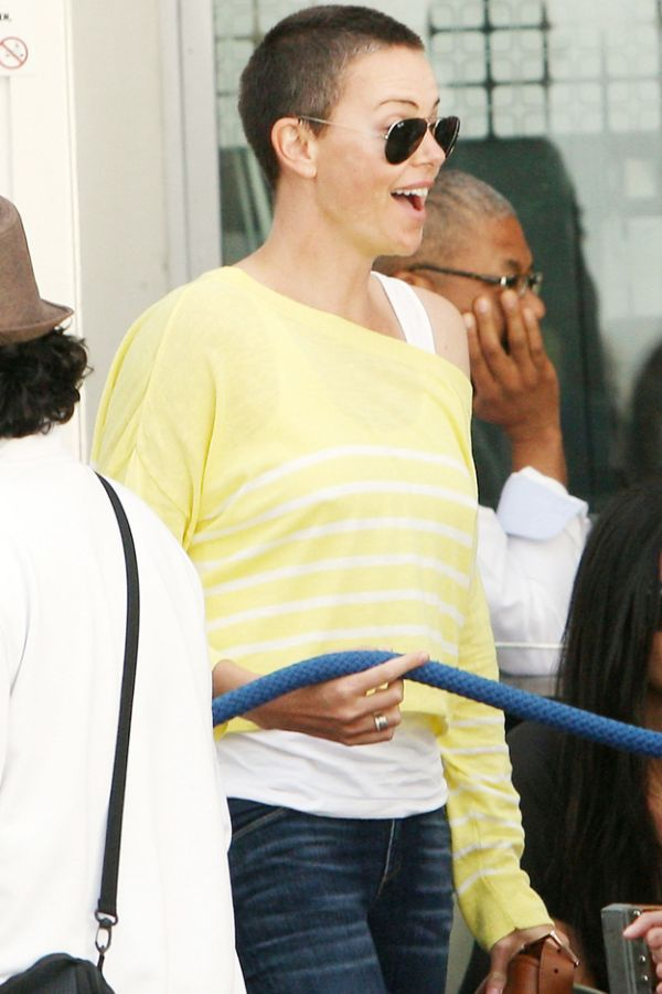What Do You Think About Charlize Theron's New Look?