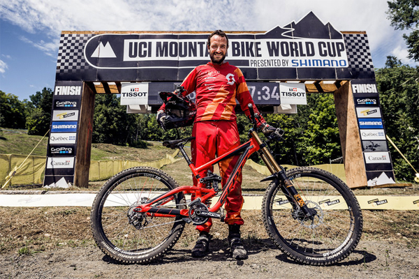 2015 Mont Sainte Anne UCI World Cup Downhill: Claudio Caluori's Track Preview