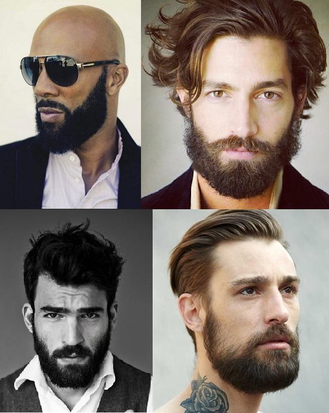Moda masculina barba cabelo - Clases de barbas ...