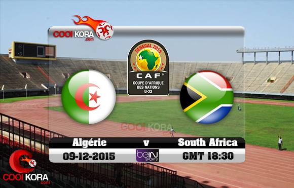 مشاهدة مباراة الجزائر وجنوب أفريقيا اليوم 9/12/2015 علي بي أن سبورت HD9