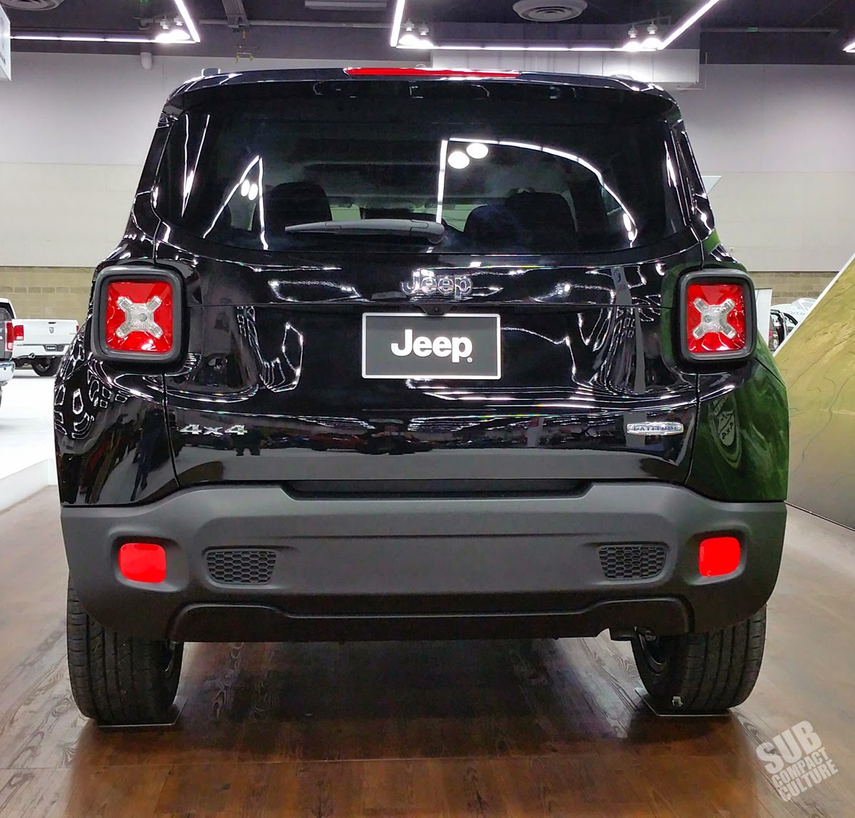 Jeep Renegade tailgate