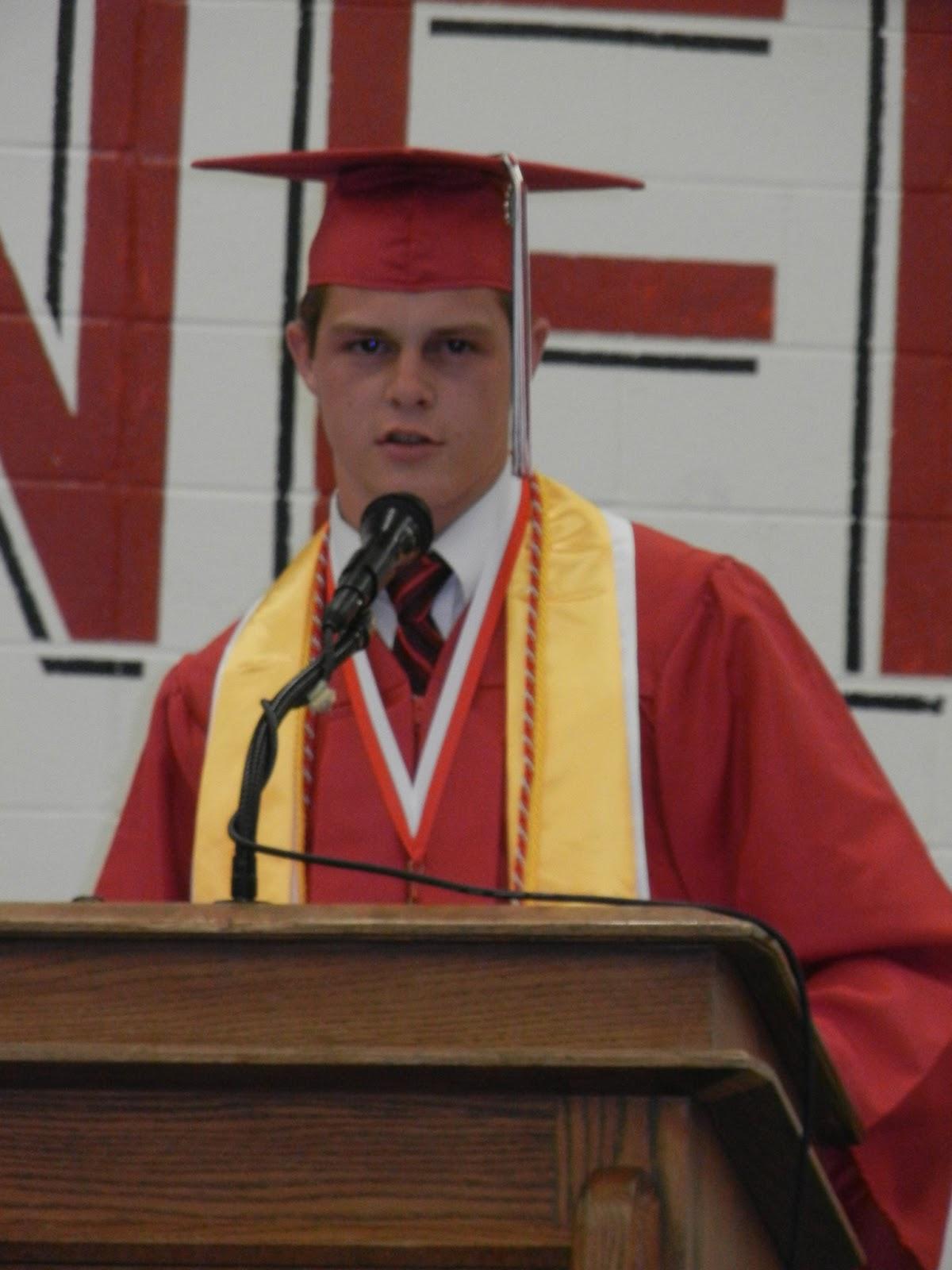 Red dress for 8th grade graduation valedictorian