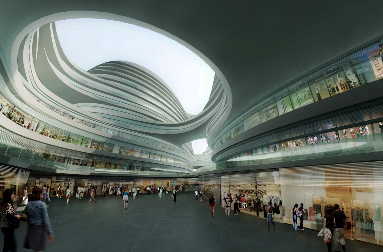 NewsGallery GALAXY SOHO BY ZAHA HADID ARCHITECTS