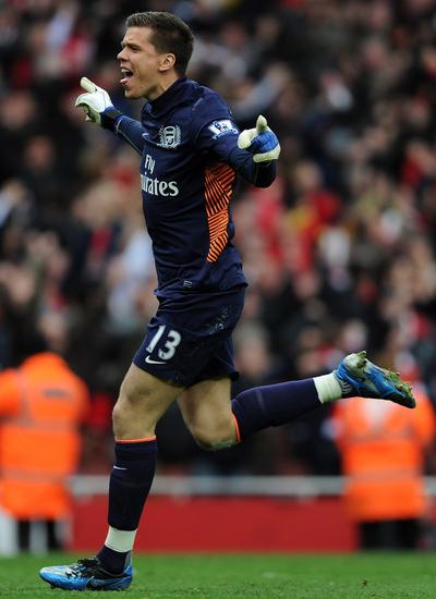 Szczesny optimistic about chances of Arsenal, Wojciech Szczesny 2012