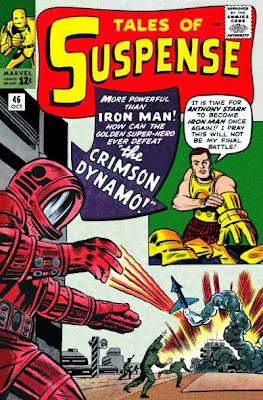 Tales of Suspense #46, Iron Man vs the Crimson Dynamo