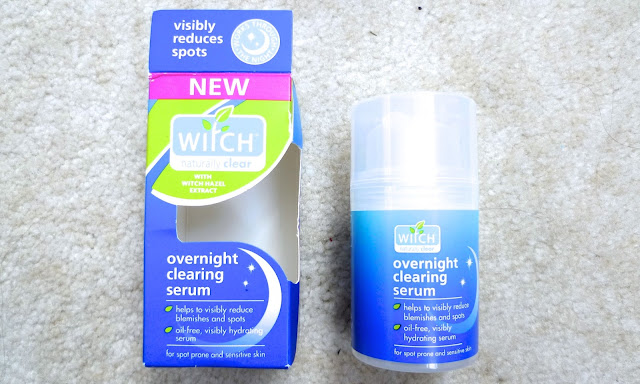 Witch Overnight Clearing Serum Skincare Review