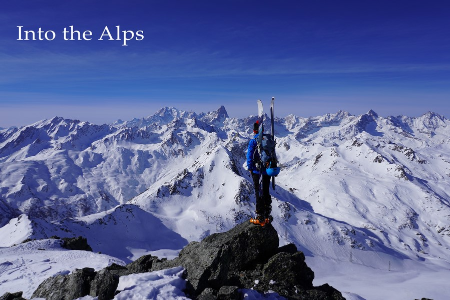 Into the Alps