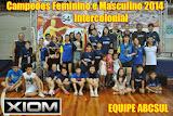 CAMPEÃO Intercolonial 2014