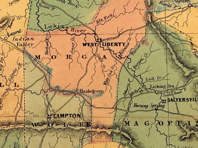 Map Of Eastern District Kentucky on eastern ky map, eku map, eastern kentucky county road map, eastern kentucky counties map,