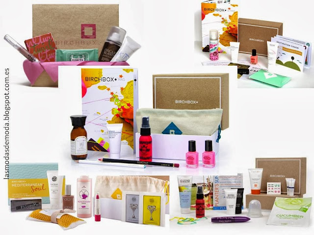 Beauty boxes: BirchBox