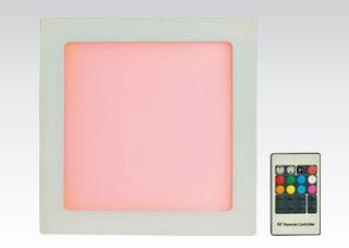 Panel LED RGB sterowany pilotem z Biedronki