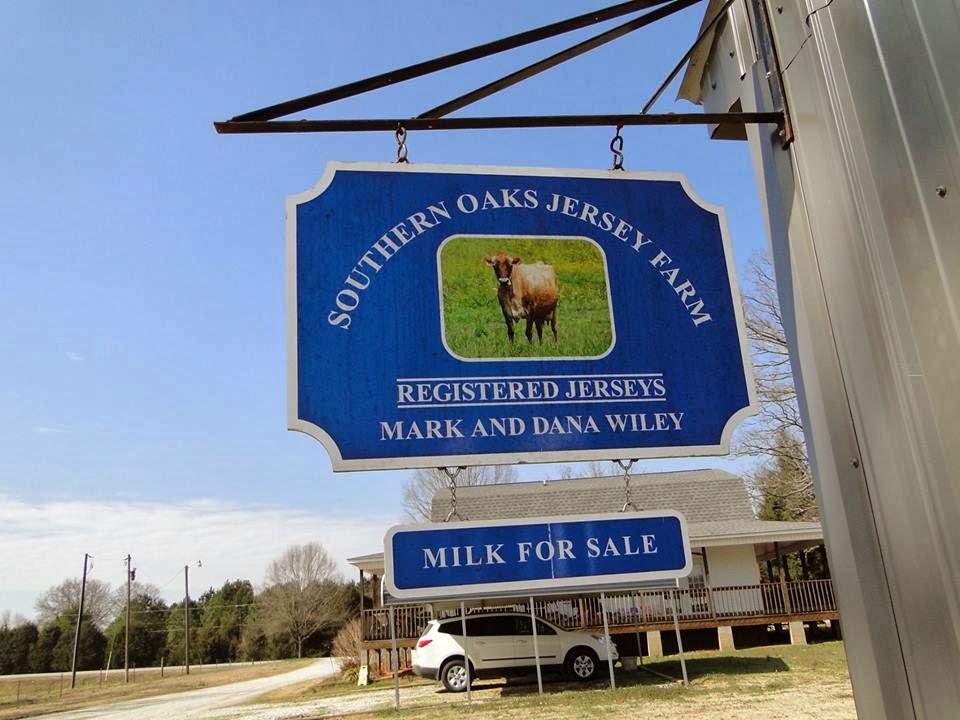 Southern Oaks Jersey Milk- YUM!