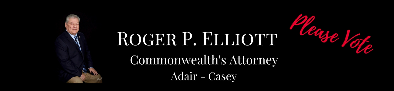 Elliott for Commonwealth's Attorney