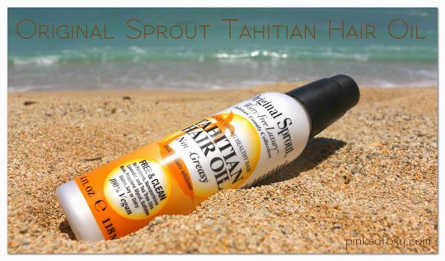 Original Sprout Tahitian Hair Product Reviews