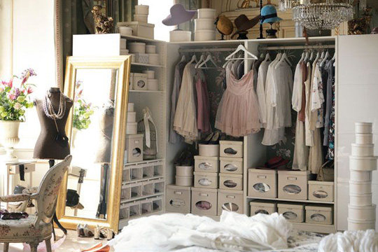 Welcome to my wonderland je veux un dressing - Comment fabriquer une penderie ...