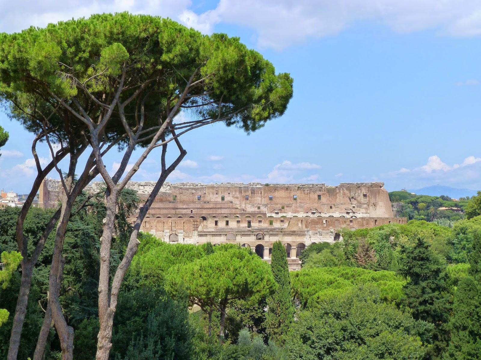 A la découverte de Rome, l'émerveillement