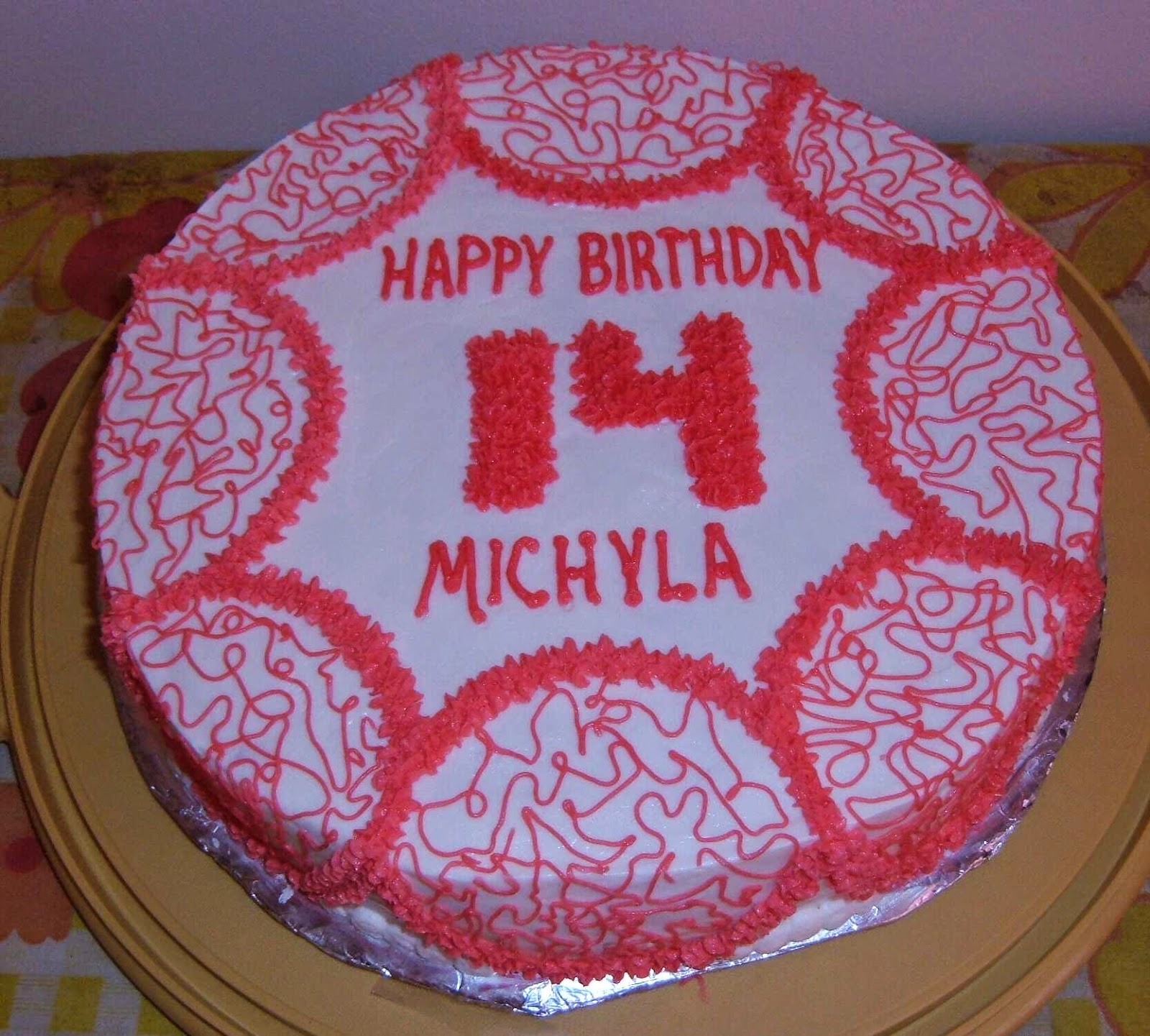 Cakes By Ruth Michylas 14th Birthday Cake 2008