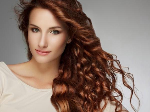 model rambut keriting terbaru