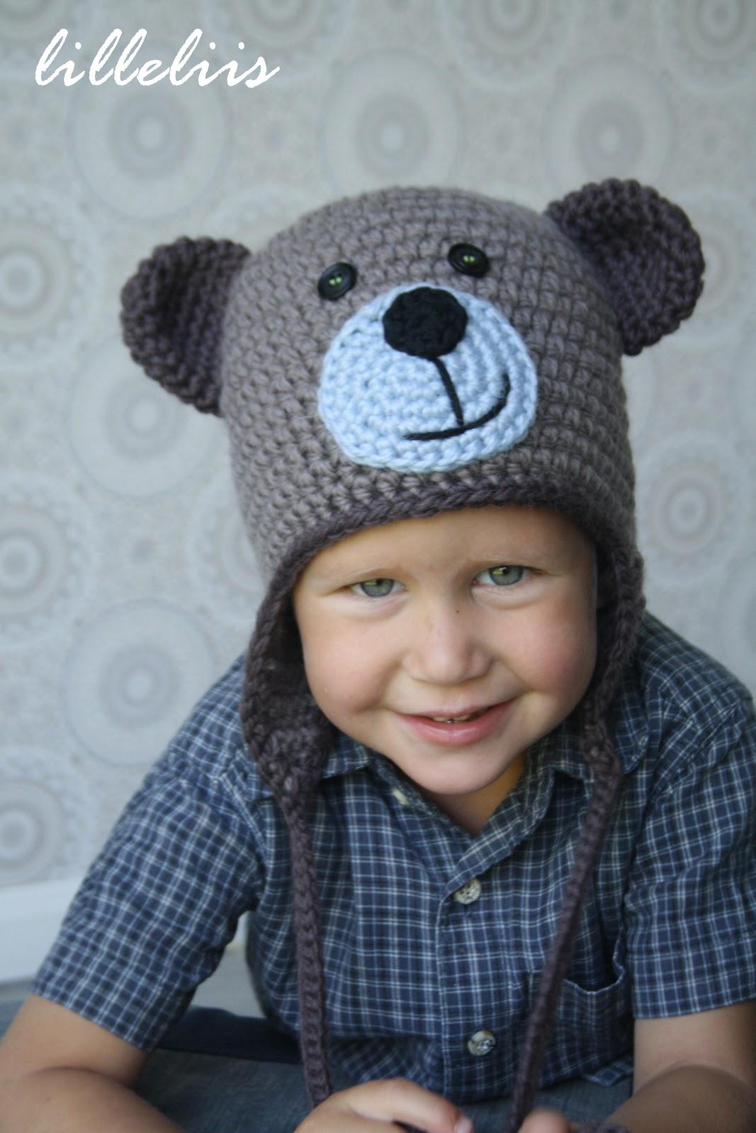 Free Crochet Bear Ear Hat Pattern : lilleliis.blogspot.com: Heegeldatud M?mmim?ts ajakirjas ...