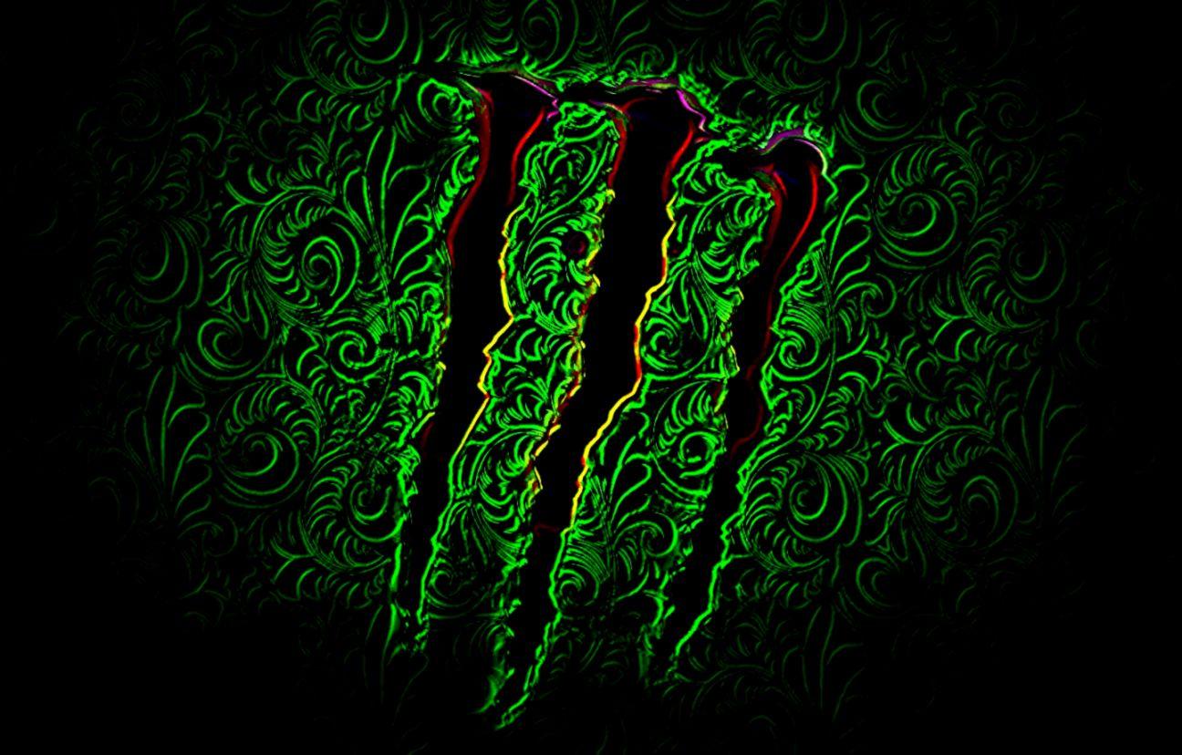 Monster Energy Logo Background