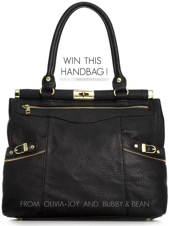Win this Handbag from Oliva+Joy and Bubby & Bean!