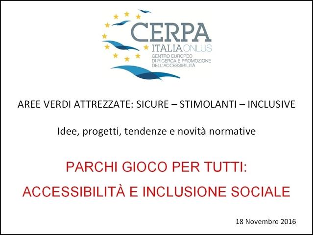 CERPA: accessibilità e inclusione