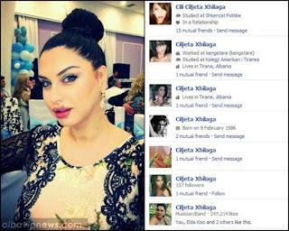 Ciljeta Xhilaga dhe 400 profilet false ne Facebook