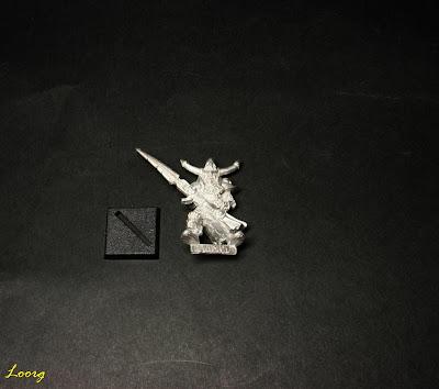 Wight 3 Caballeros no muertos sin pintar